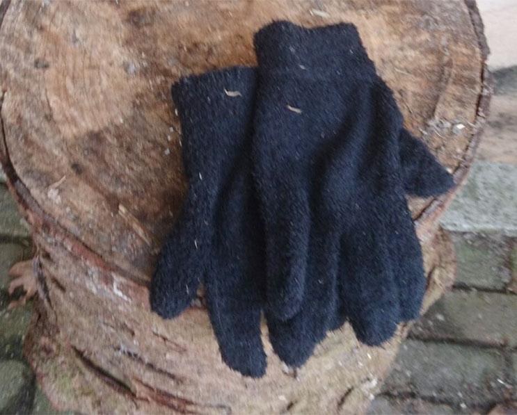 handschoenen gevonden